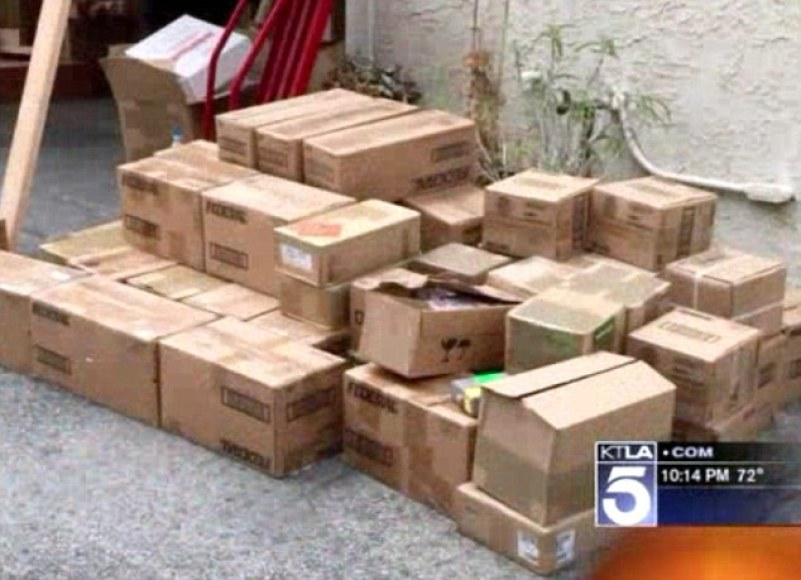 Among the haul was two tons of ammunition, but investigators believe it was a private collection