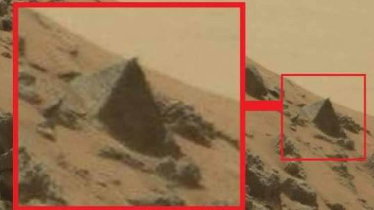 NASA's Curiosity Rover Snaps Pyramid On Mars, Is This Proof Of An Early Civilization?