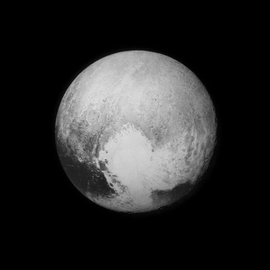 Image-of-Pluto-captured-from-New-Horizons