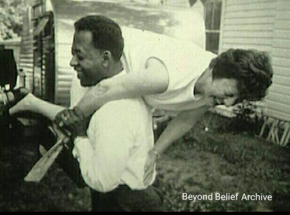 Betty and Barney together in 1951