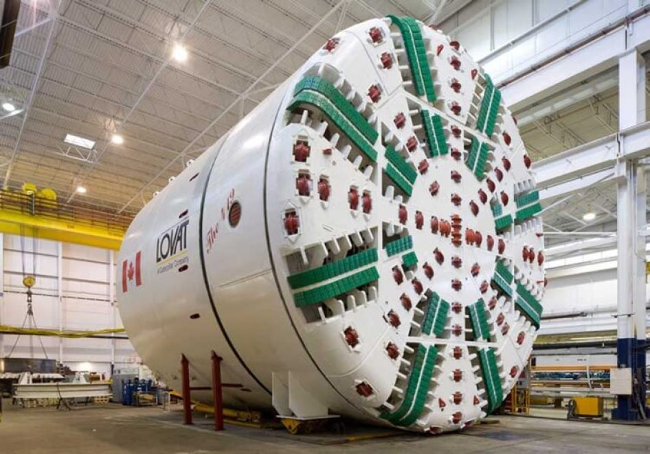 METROLINX - Tunnel Boring Machine