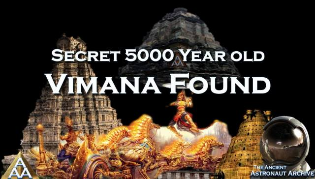 WAS AN ANCIENT 'VIMANA' REALLY UNEARTHED IN 2012?? (Video)