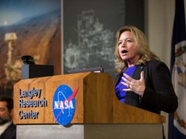 Ellen Stoffan, chief scientist. NASA.