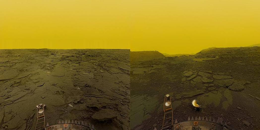 YES, WE'VE SEEN THE SURFACE OF VENUS