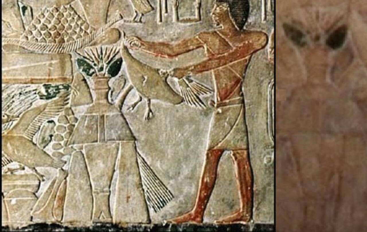 12 ancient paintings containing surprising evidence of ...
