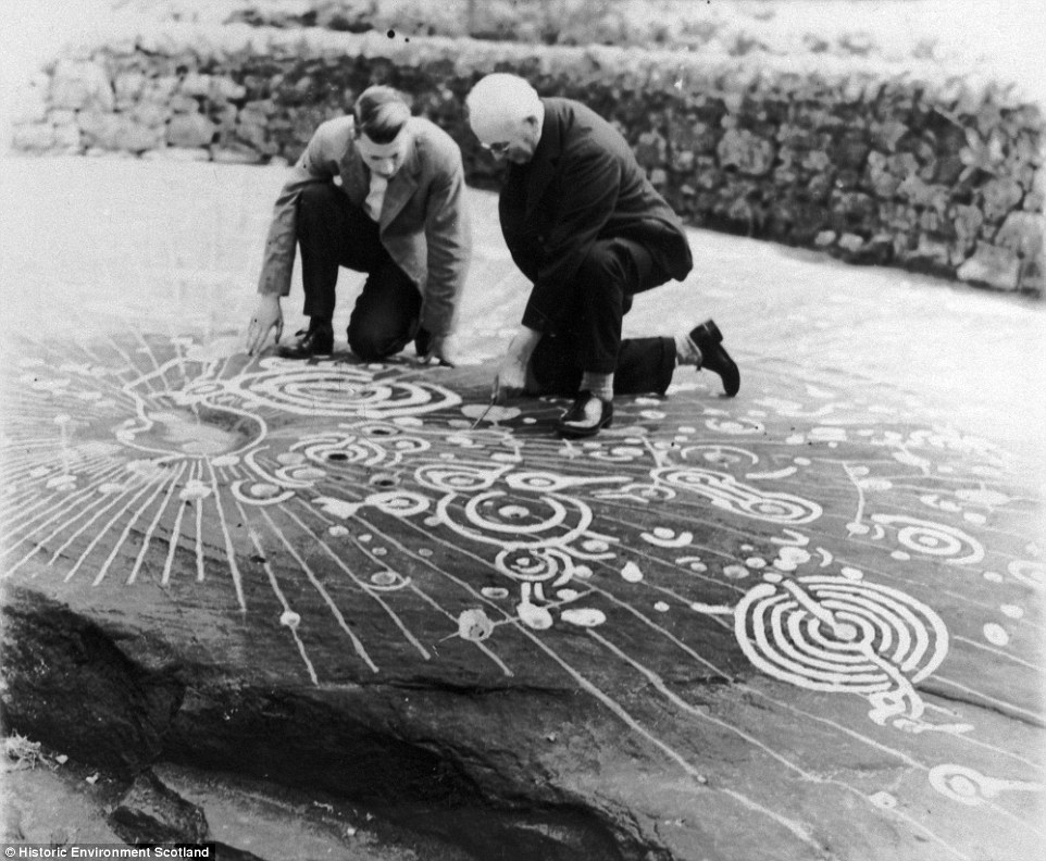 Archaeologists studied the markings at the time they were uncovered, but it is hoped new imaging techniques will reveal new insights into how, when and even who made the markings