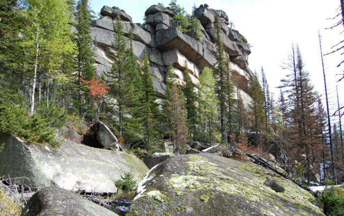 The most famous megaliths of Russia (50 photos)
