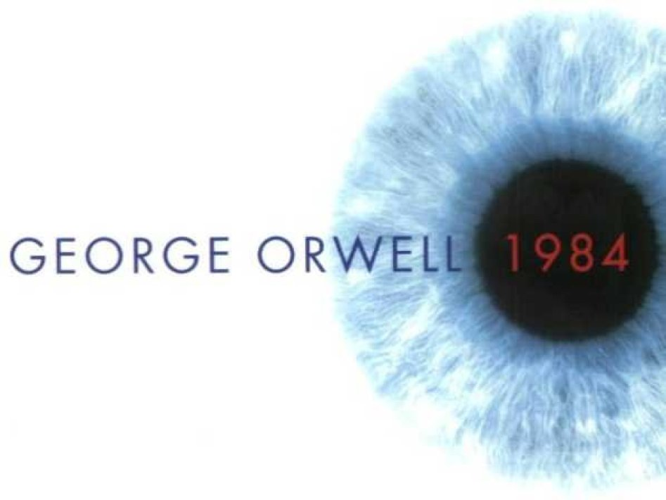 """1984"" by George Orwell (1948)"