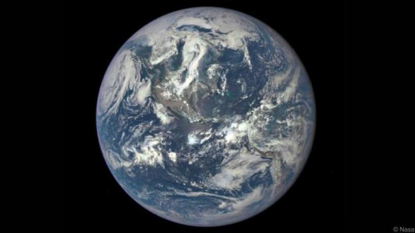 Our round Earth (Credit: Nasa)