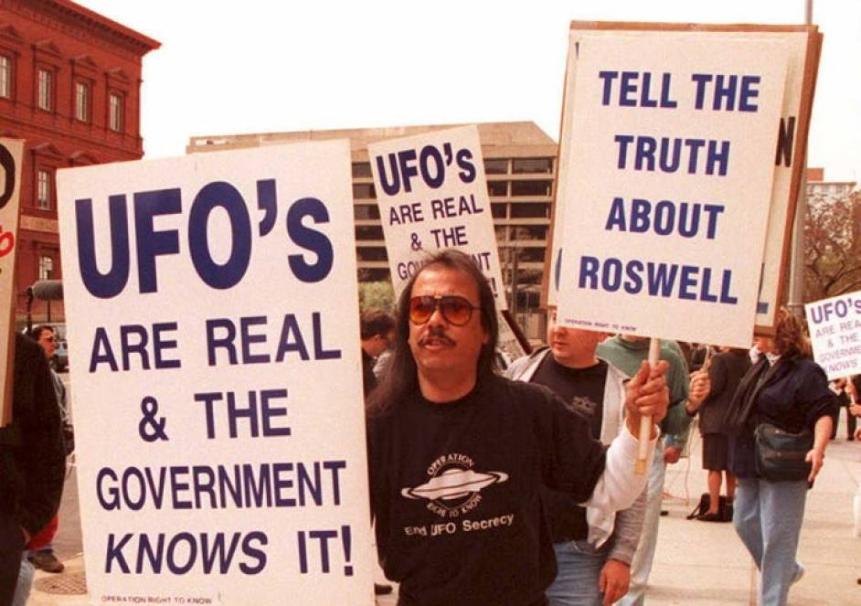roswell ufo protest 1995
