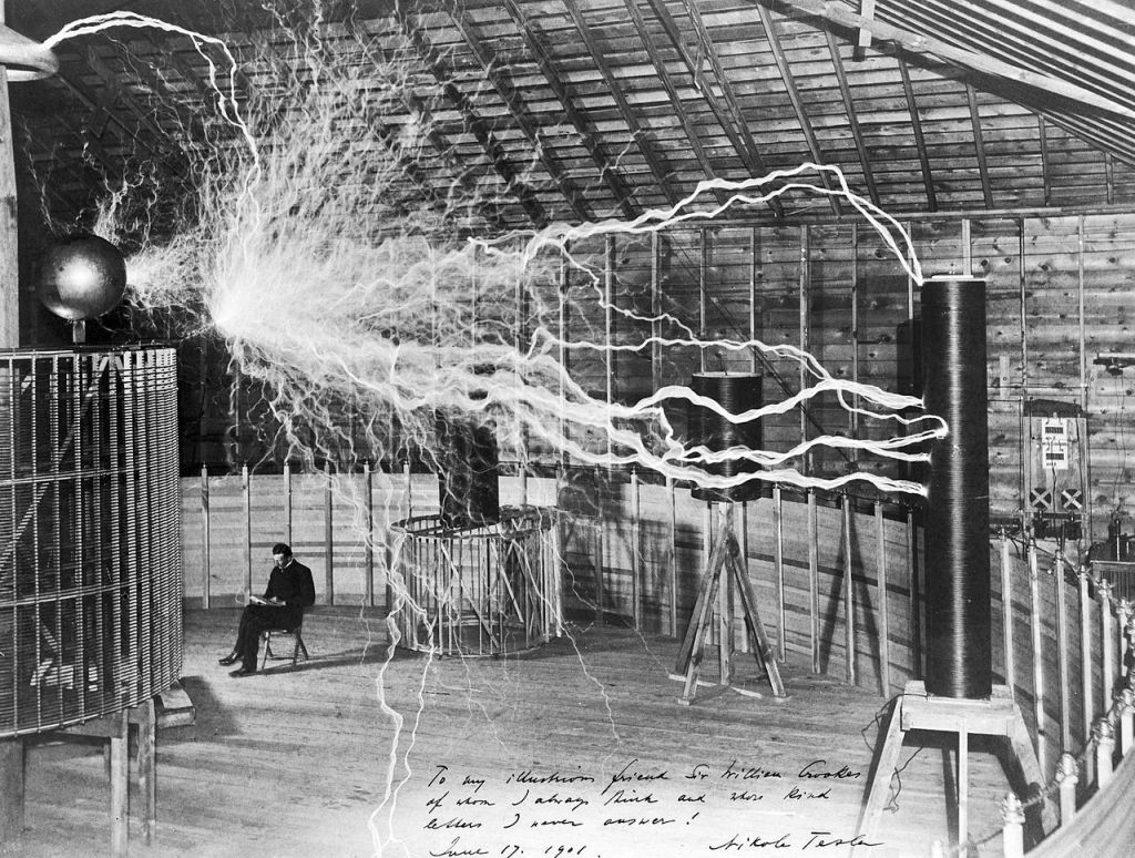 Tesla and its electrical device