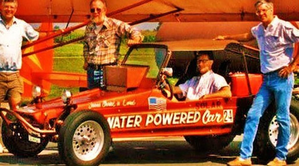 Stanley Meyer's complete water powered car.