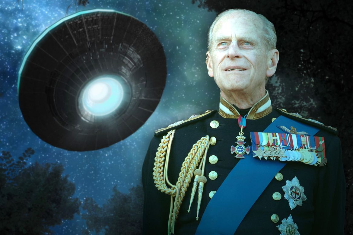Prince Philip Was Super Into Aliens and UFOs, Apparently