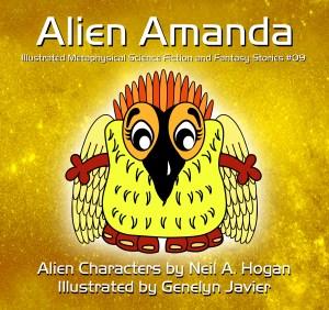 Alien Amanda - Cover Page