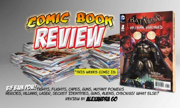 Comic Book Review: Batman: Arkham Unhinged by Alex Go