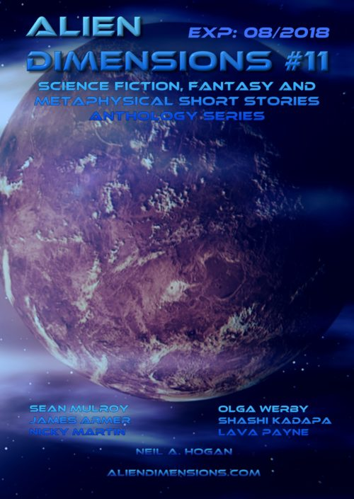 Alien Dimensions Science Fiction, Fantasy and Metaphysical Short Stories Anthologies Series