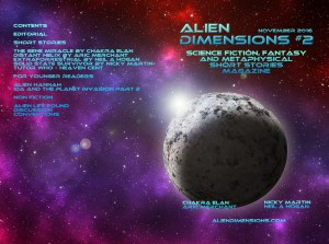 Alien Dimensions Science Fiction Fantasy and Metaphysical Short Stories Issue 2