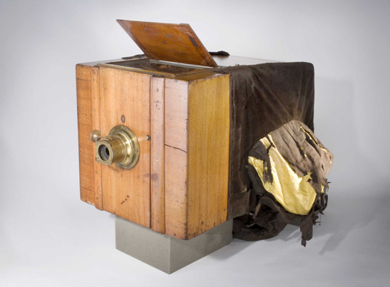 Frederick Scott Archer's wet-collodion camera, 1853, The Royal Photographic Society Collection at the National Media Museum