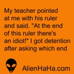Funny Quotes 76 by Alien Ha Ha