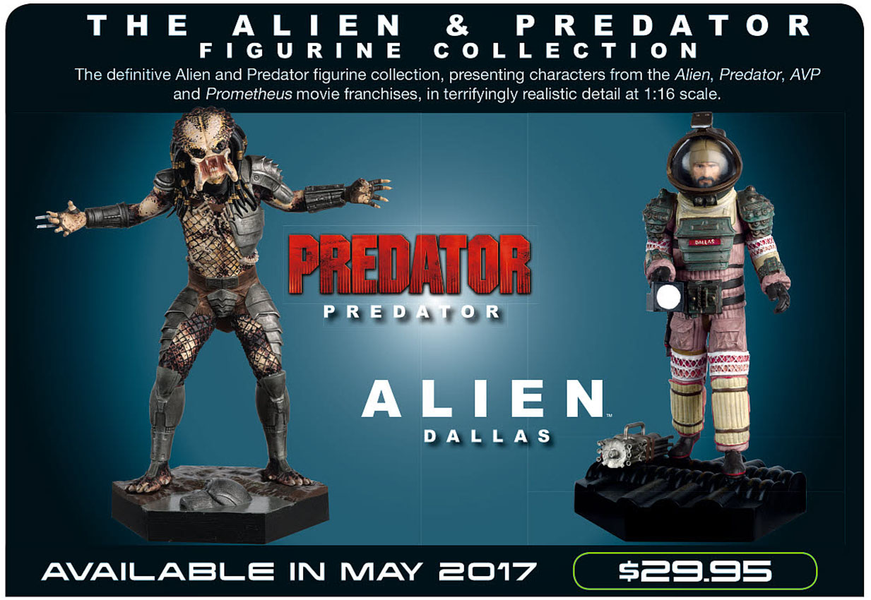 Eaglemoss: Predator e Dallas (2017)
