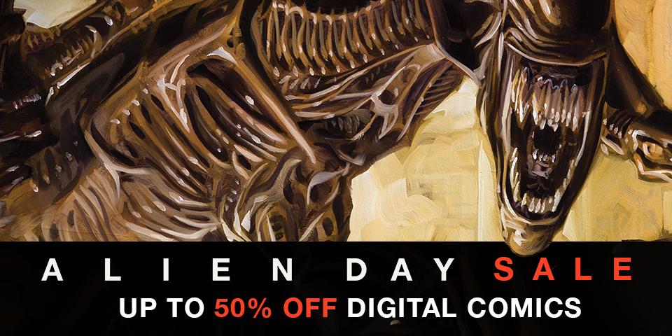 Dark Horse Comics: Alien Day Sale (2017)