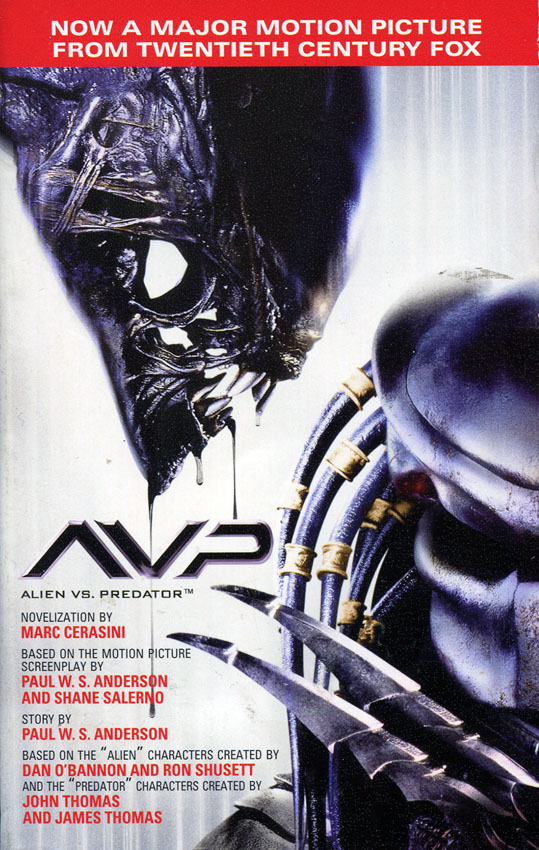[2004-07] AVP: Alien vs Predator (Novelization)