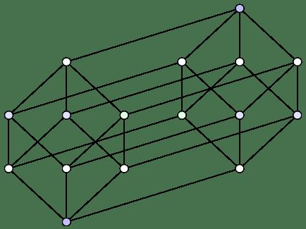 Line 22f1fa19c3m1b7c8e12c12 Tesseract Tetra Cube CORE UFO