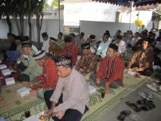 Nyadran, Banteng