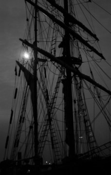 Haunted ghost ship