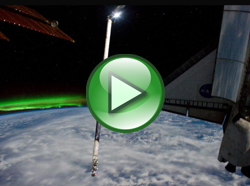 UFOs caught on tape by NASA footage