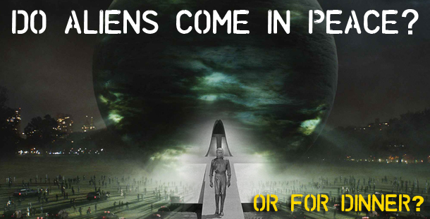 NASA reveals alien invasion scenarios, Aliens May Eat Us?