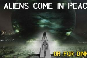 NASA Reveals Alien Invasion Scenarios, Aliens May Eat Us?