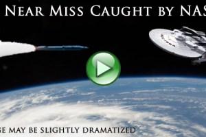 UFO dodges Missile Strike – Official NASA footage
