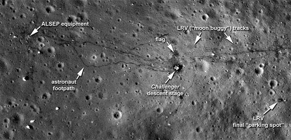 NASA releases latest Moon surface images showing space trash