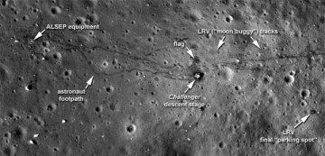 Moon Landing Images