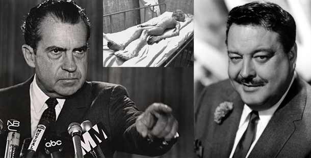 Jackie Gleason witnessed alien bodies and reveals Nixon coverup