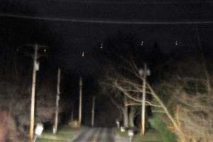Orange Orb UFO photographed in Pennsylvania [Image]