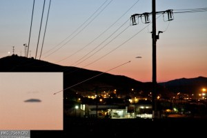 Incredible UFO photo over California