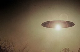 Disc shaped UFO Seen over New Jersey