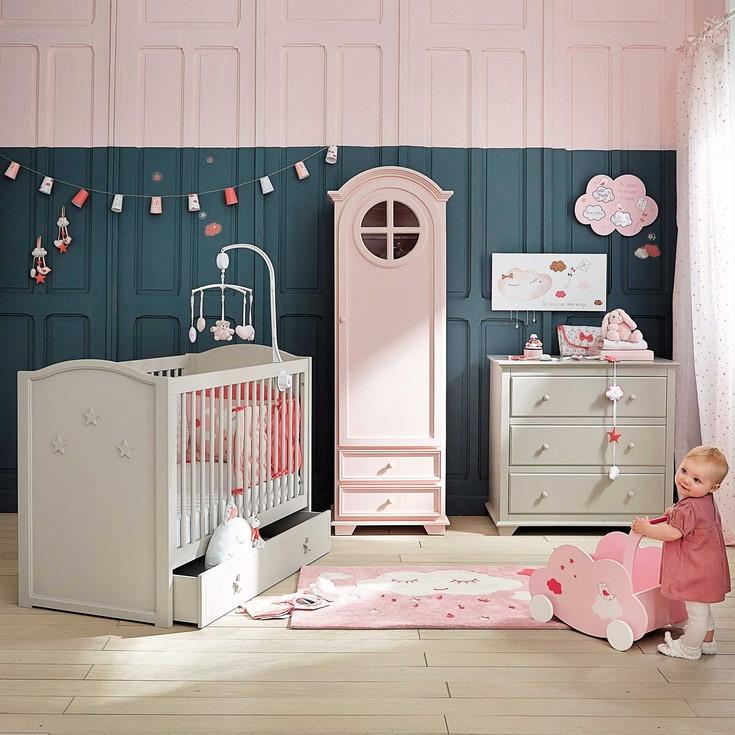 Couverture Fille Maison Du Monde | Chambre Petite Fille ...