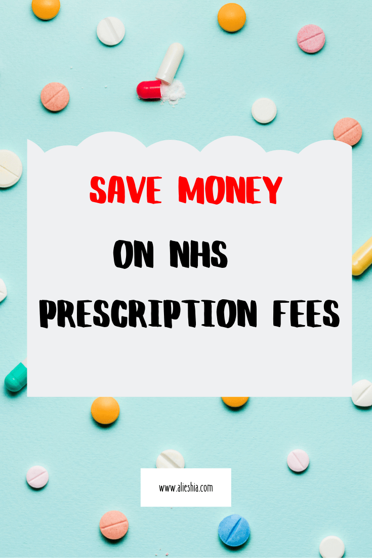 save money on NHS prescription fees