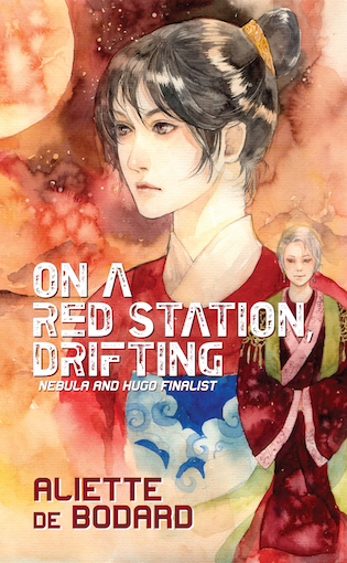 Image result for Aliette de Bodard: On a Red Station, Drifting.""