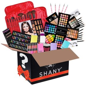 SHANY Gift Surprise - AMAZON EXCLUSIVE - All in One Makeup Bundle - Includes Pro Makeup Brush Set, Eyeshadow Palette,Makeup Set or Lipgloss Set and etc. - COLORS & SELECTION VARY