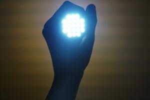 Vergrootglas met verlichting