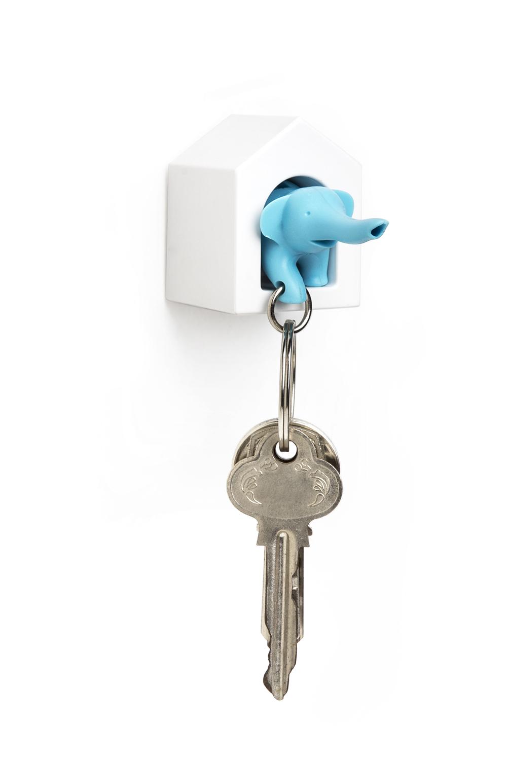 QL10187 BU ELEPHANT KEY RING
