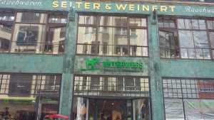 Art Nouveau frontage (Leipzig)
