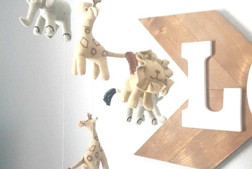 baby boy nursery, nursery ideas, baby boy nursery ideas, mobile ideas, nursery photo wall