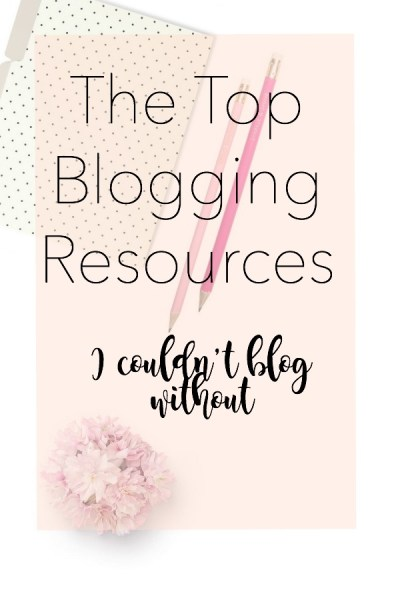 the top blogging resources that I couldn't blog without. These are the best blogging resources out that allow me to create, maintain, protect, and share my blog. #startablog #startamomblog #bloggingresources #whatdoineedtostartablog