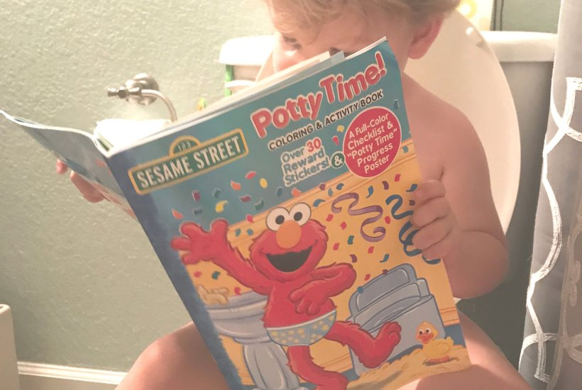 I potty trained my boy when he was 21 months old. I never thought that I would be the kind of mom that gets her son to potty train before two, but I did it. And I want to show you how.