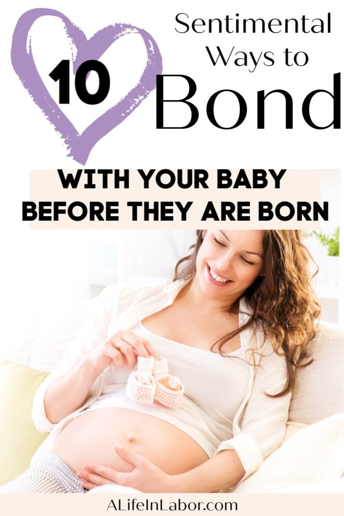 ways to bond with baby during pregnancy